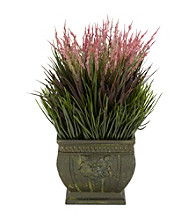 Nearly Natural® Mixed Grass Silk Plant (Indoor/Outdoor)