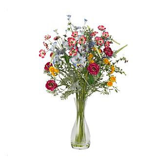Nearly Natural® Veranda Garden Silk Flower Arrangement