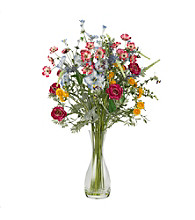 Nearly Natural® Veranda Garden Silk Flower Arrangement