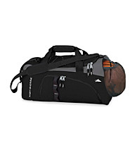 High Sierra® Ballbusta Cross-Sport Duffel - Black/Charcoal