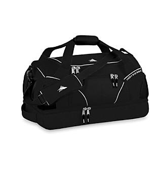 High Sierra® Crunk Trunk Cross-Sport Duffel - Black