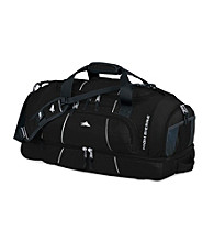 High Sierra® Colossus Cross-Sport Duffel - Black