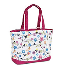 High Sierra® Shelby Tote Bag - Birds on a Wire/Cerise