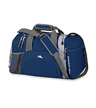 High Sierra® Switch Blade Cross-Sport Duffel - Blue Velvet/Silver