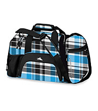High Sierra® Switch Blade Cross-Sport Duffel - Blue-Black Crosshatch/Black