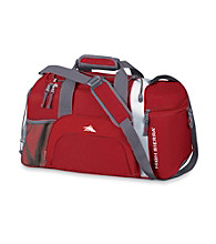 High Sierra® Switch Blade Cross-Sport Duffel - Carmine Red/White