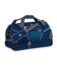 High Sierra® Crunk Trunk Cross-Sport Duffel - Blue Velver/Silver