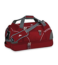 High Sierra® Crunk Trunk Cross-Sport Duffel - Carmine Red/White