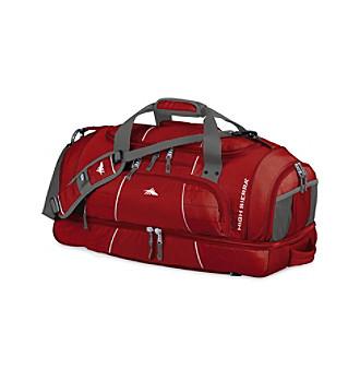 High Sierra® Colossus Cross-Sport Duffel - Carmine Red
