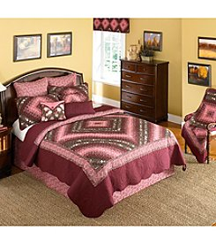 Donna Sharp® Mauvelous Postage Stamp Bedding Collection