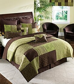 Donna Sharp® Pistachio Square Bedding Collection