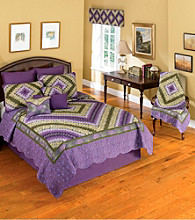 Donna Sharp® Plum Postage Stamp Bedding Collection
