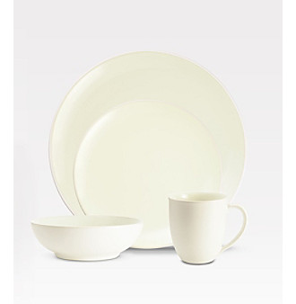 Noritake Colorwave Coupe White 4-pc. Place Setting