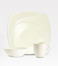 Noritake Colorwave Square White 4-pc. Place Setting