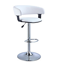 Powell® Barrel Seat Adjustable Height Bar Stool