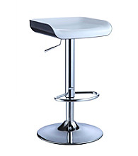 Powell® Set of 2 Backless Chrome Bar Stools