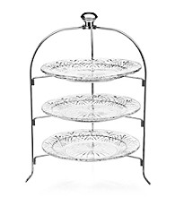 Godinger Dublin 3 tier serving rack