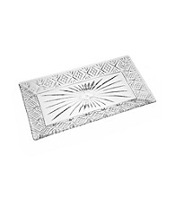 Godinger Dublin Small Rectangle Tray