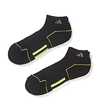 adidas® Men's ClimaCool® 2-Pack Athletic Low-Cut Socks - Black