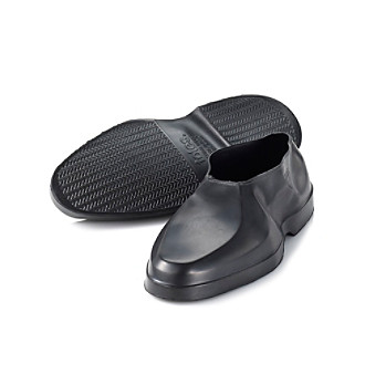Totes® Men's Geometric Rubber Shoe Covers