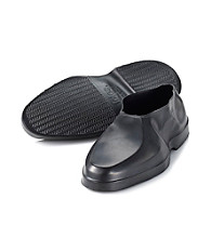 Totes® Men's Geometric Rubber Shoe Covers - Black