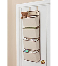Delta 4-Pocket Over the Door Organizer - Beige