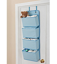 Delta 4-Pocket Over the Door Organizer - Blue