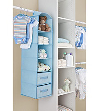Delta Blue 4-Shelf Closet Storage with Drawers