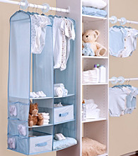 Delta Blue 24-pc. Nursery Storage Set
