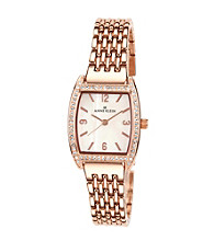 Anne Klein® Bracelet Watch - Rose Gold