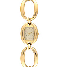 Nine West® Oval Bracelet Watch - Gold