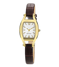Nine West® Cushion Strap Watch - Brown