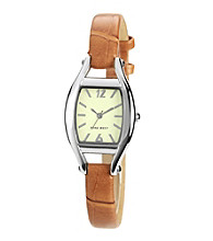 Nine West® Cushion Strap Watch - Camel