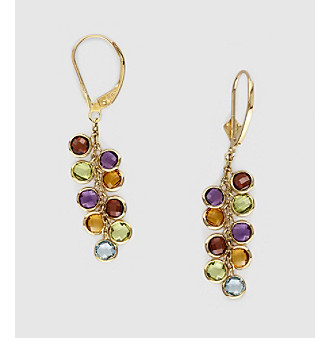 Effy® 14K Yellow Gold Stone Drop Earrings - Multi