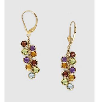 Effy® 14K Yellow Gold Stone Drop Earrings - Multi