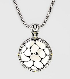 Effy® Balissima 18K Yellow Gold Sterling Silver Pendant Necklace
