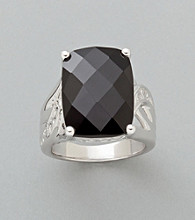 Sterling Silver Ring - Black Onyx