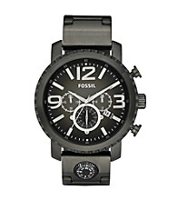 Fossil® Gage Smoke Plated Stainless Steel Watch