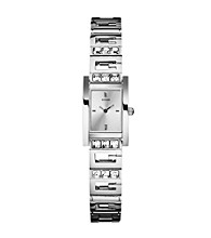 Guess Women's Silvertone G-Iconic Sophistication Watch