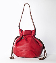 The Sak® Indio Drawstring Leather Hobo