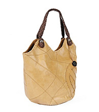 The Sak® Indio Leather Patchwork Large Tote