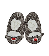 MUK LUKS® Soft Ones Sock Monkey Slippers