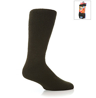 Heat Holders® Men's Forest Green Ultimate Thermal Socks