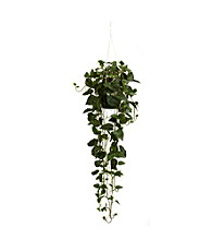 Nearly Natural® Philodendron Hanging Basket Silk Plant