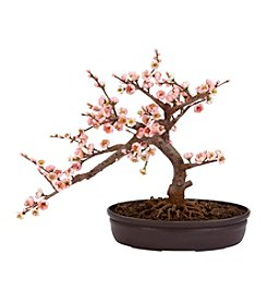 Nearly Natural® Cherry Blossom Bonsai Silk Tree