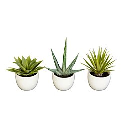 Nearly Natural® Set of Three Southwest Collection