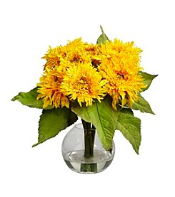 Nearly Natural® Golden Sunflower Arrangement