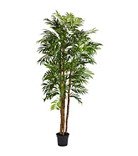 Nearly Natural® 6' Bella Palm Silk Tree