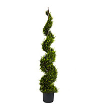 Nearly Natural® Cypress Spiral Tree