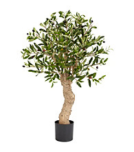 Nearly Natural® 2.5' Olive Silk Tree
